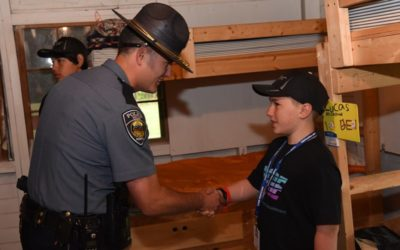 Camp POSTCARD: Giving Kids a Camp Experience and a New Look at Law Enforcement