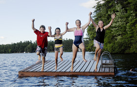 Camp Laughing Loon Maine Summer Camps