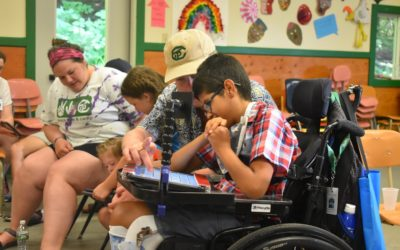Camp Communicate 2018: Pine Tree Society Offers its Annual Camp Experience for Non-Verbal Youth